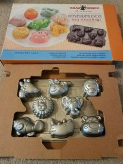 Nordic Ware Zoo friends mini cake cakelet pan new in the box