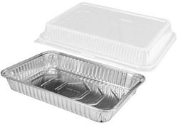 "Handi-Foil 13"" x 9"" Oblong Aluminum Foil Disposable Cake Pan"