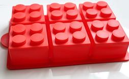 morethanart Large Party XXL Lego Shape Ice Cube Mold & Bakin