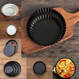 Pie Cake Pan Tart Removable Non Stick Bottom Baking Pastry M