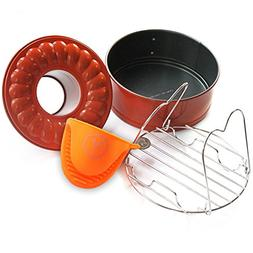 Pressure Cooking Three Piece Bundle Set For Use With Pressur