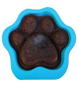 Puppy Paws and Bones Large Paw Edition Silicone Dog Paw Shap