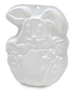 CK Products Rabbit Pantastic Plastic Cake Pan