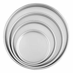 Wilton Brands 2105-2101 4pc Round Aluminum Pan Set