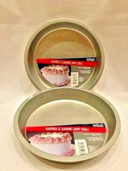 """2 X Cooking Concepts Round Non Stick Cake Pan 8"""" Inch~ 2 Pa"""