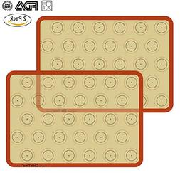 Silicone Baking Mat Cookie Sheet Set  Non-stick Cooking Mat