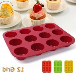 Silicone Baking Molds Cupcake Chocolate Cake Mold Pan Non-St