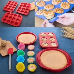 silicone baking pan muffin cup cake cookie