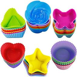 silicone cupcake baking cups bread