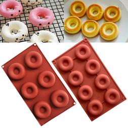 Silicone Donut Muffin Chocolate Cake Candy Cookie Cupcake Ba