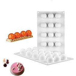 Silicone Mousse Specialty & Novelty Cake Pans Molds 3D Mini