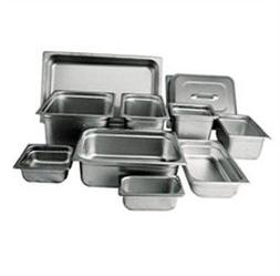 "Winco SPJH-402 Steam Table Pan, 1/4 Size, 2-1/2"" Deep, Heavy"