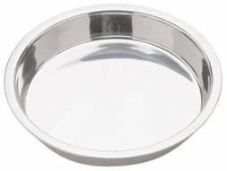 """Happy Sales 9"""" Stainless Steel Cake Pan , Silver"""