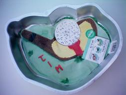 Wilton Tee It Up or Golf Club and Ball Cake Pan -- Make it a