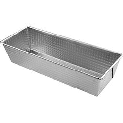Zenker Tin Plated Steel Loaf Pan, 10-Inch x 4.4-Inch x 2.8-I