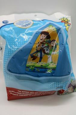 Toy Story 3 Cake Pan 2 Disposable Pans 2 Toppers Buzz Lighty