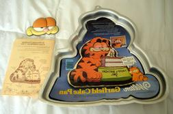 Vintage Wilton GARFIELD CAKE PAN w/ FACE PLATE EYES #2105-24