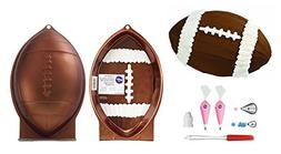 Wilton First and Ten Football Pan Bundle of 6 Items: Footbal