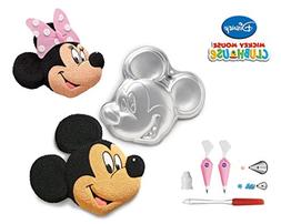 Wilton Mickey Mouse Mold Clubhouse Cake Pan Bundle of 6 Item